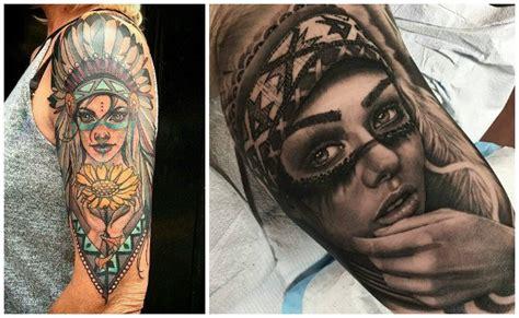 tatuajes de indios americanos  guerreros apaches disenos