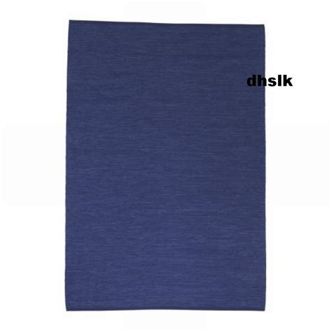 Ikea Teppich Blau by Ikea Erslev Blue Large Area Throw Rug Mat Reversible Handwoven
