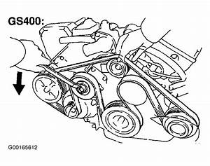 1998 Lexus Gs 400 Serpentine Belt Routing And Timing Belt