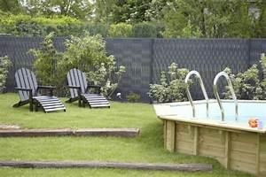 Brise Vue Synthétique : brise vue jardin esth tique et pratique ~ Edinachiropracticcenter.com Idées de Décoration