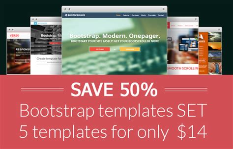 bootstrap  templates set save   images
