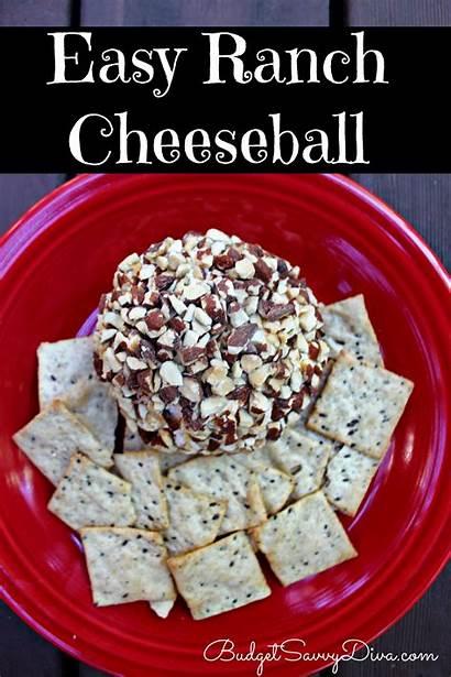 Recipe Ranch Easy Cheeseball Savvy Budget Budgetsavvydiva