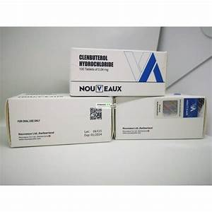Clenbuterol Nouveaux Ltd 100 Comprim U00e9s De 0 04 Mg
