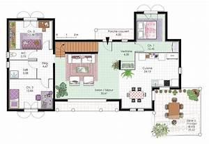 vaste villa familiale detail du plan de vaste villa With plan de maison a etage 3 vaste villa detail du plan de vaste villa faire