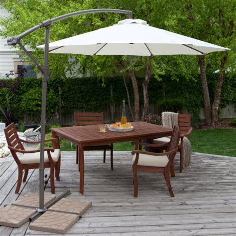 umbrella stand patio umbrella coral coast 9 ft offset