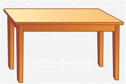 Clipart Table Desk Wooden Cliparts Station Clipground