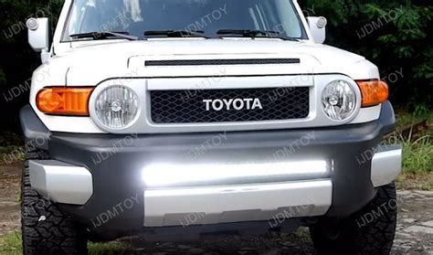 2007 2014 toyota fj cruiser 180w high power cree led light bar
