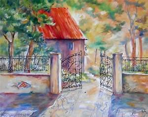 17 best images about les tableaux d39axelle bosler on With peinture d une maison 4 peinture tableau maison