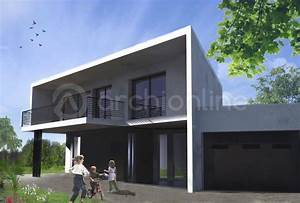 maison contemporaine 100m2 maison moderne With photos de maison contemporaine