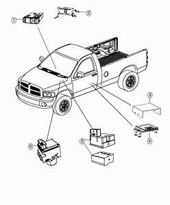 Dodge Ram 1500 Module  Air Suspension   Load Leveling And