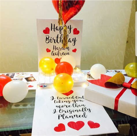 Buy Birthday Surprise Box With Balloons by Shop Around by