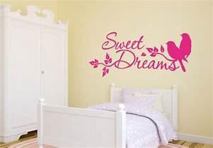 Wandtattoo Sweet Dreams : wandtattoo sweet dreams 4 wall ~ Whattoseeinmadrid.com Haus und Dekorationen