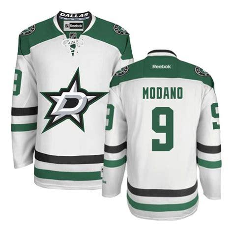 Adult Premier Dallas Stars Mike Modano White Away Official ...