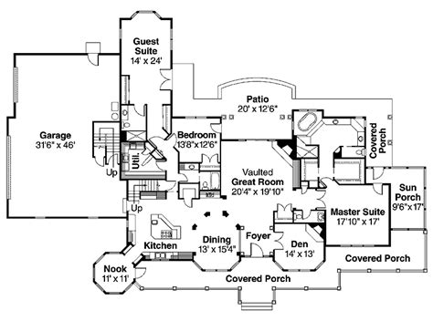 Dream Home Plans Cool House Plan, Cool Home Floor Plans