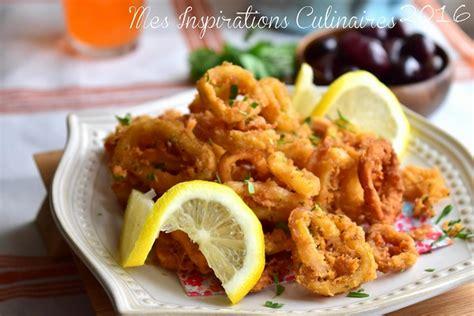 comment cuisiner l encornet calamars frits recette tapas facile le cuisine de