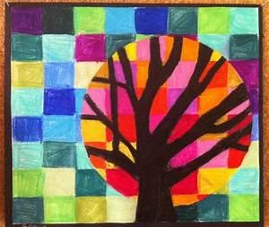 suite du cercle chromatique couleurs chaudes froides With couleur froides et chaudes 3 arbres couleurs chaudes et froides