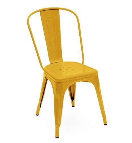 chaise a tolix chaise a tolix jaune ral p93 01 b no place like home