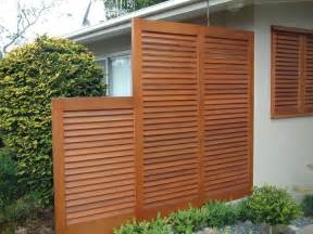 Wood Outdoor Privacy Screen