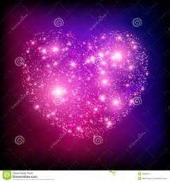 Sparkle Pink Glitter Hearts