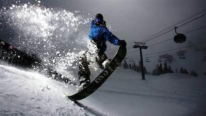 Snowboarding Skiing