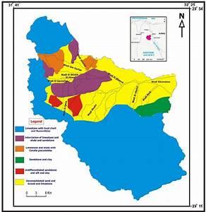 Facies Map Of Wadi Ghweabae Area