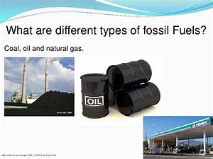 Fossil fuels powerpoint