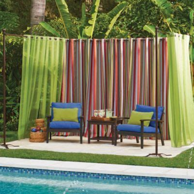 1000 ideas about outdoor curtain rods on pinterest
