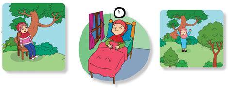 Gimana caranya orang bungkuk tidur? Kunci Jawaban Tema 4 Kelas 3 Halaman 16, 17 Buku Siswa ...