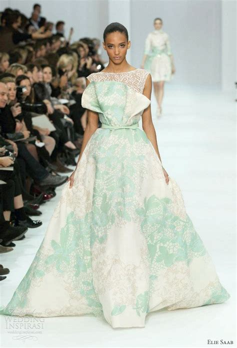 elie saab spring  couture wedding inspirasi