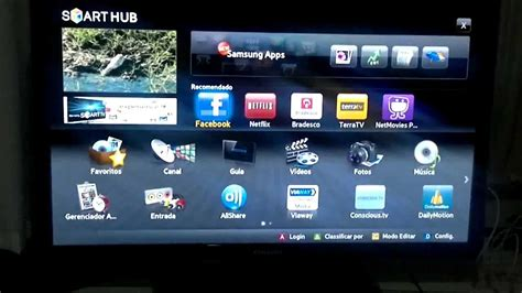 01 Internet Smart TV Samsung UN40D5500 x LG 42LV5500