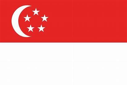 Flag Singapore National Sewn Flags Piggotts Yard
