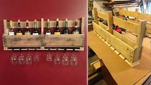 Build This Pallet Wine Rack to Store Your Favorite Bottles ...