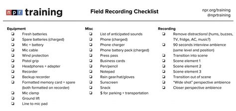 great sound  time   field recording