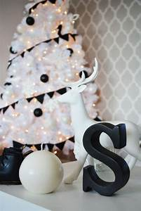 Christmas Tree Pattern 15 Impressive Black And White Christmas Decor Ideas
