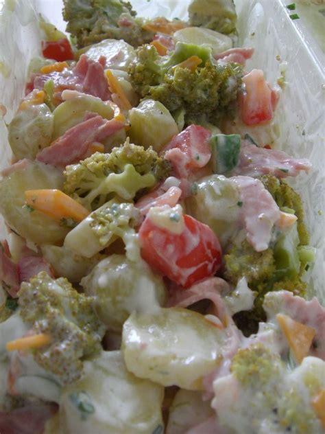 salade compl 232 te pomme de terre brocolis avec assaisonnement all 233 g 233 recettes by chouchou