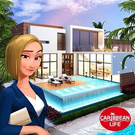 home design caribbean life  apk mod unlimited