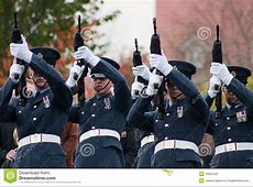 Royal Air Force Military Funeral Editorial Stock Photo