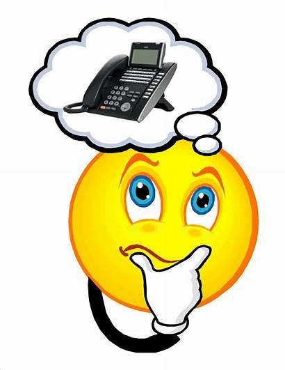 Emoji Thinking Phone Tech Clip Clipart Cell