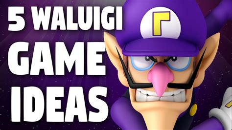 game ideas starring waluigi contest results youtube