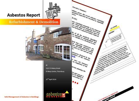 services asbestos uk surveys
