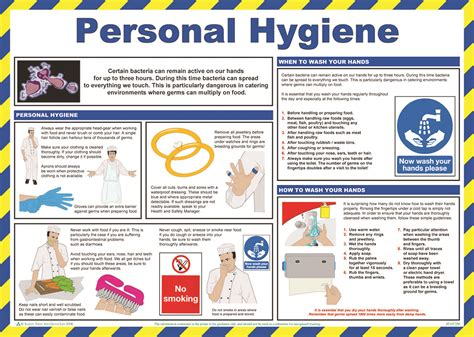 Kitchen Organisation Ideas - personal hygiene aid training operations