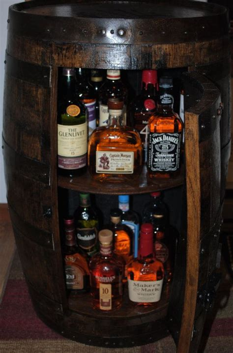 ideas  whiskey barrel bar  pinterest wine