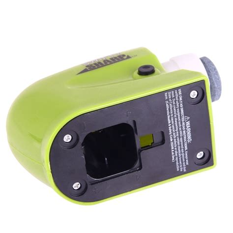 swifty sharp cordless electric knife sharpener with catch