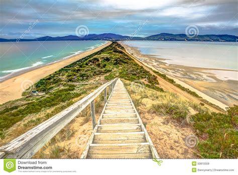 The Neck Lookout Stock Image Image Of Island Tasmania