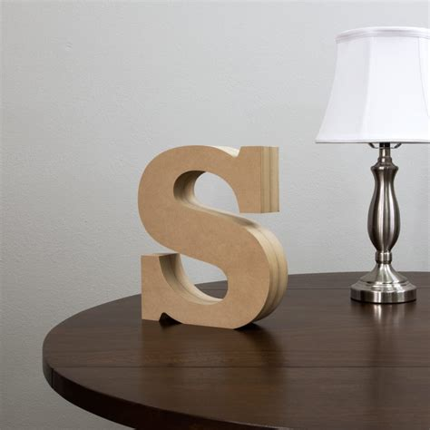 standing wood letters shelf letters craftcutscom