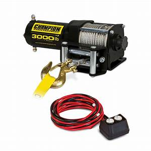 Champion 3000-lb  Atv  Utv Winch Kit