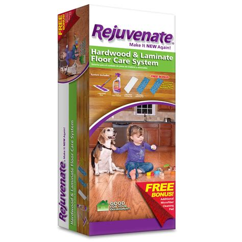Rejuvenate Laminate Floor by Rejuvenate Hardwood Laminate Floor Care System