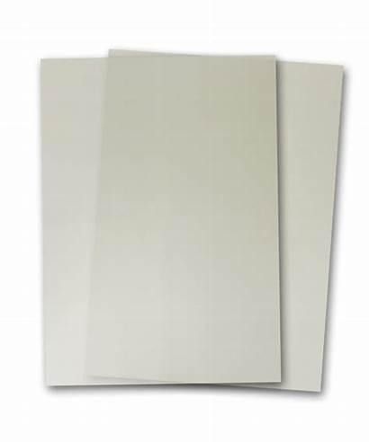 Clear Translucent Vellum Paper Sheets Cutcardstock Count