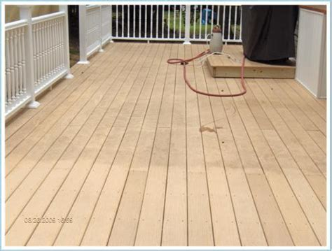 cleaning trex decking with composite deck clean spots composite deck