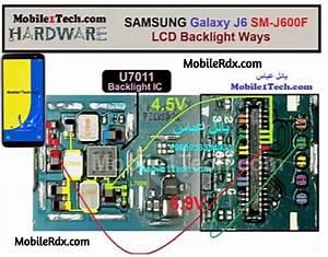 Samsung Galaxy J6 J600f Display Light Problem Lcd